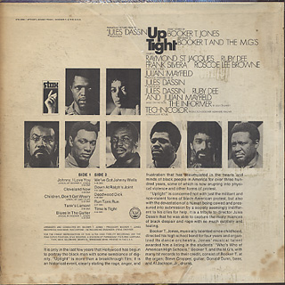 O.S.T.(Booker T & The M.G.'s) / Uptight back