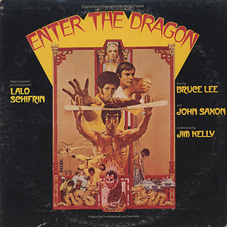 O.S.T.(Lalo Schifrin) / Enter The Dragon front