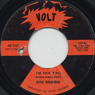 Otis Redding / Try A Little Tenderness back