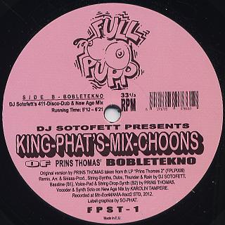 Prins Thomas / Dj Sotofett Pres. King-phat's Mix choons back