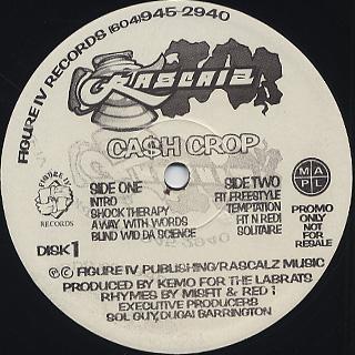 Rascalz / Cash Crop