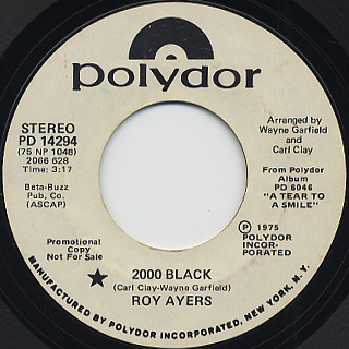 Roy Ayers Ubiquity / 2000 Black front