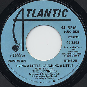 Spinners / Living A Little, Laughing A Little