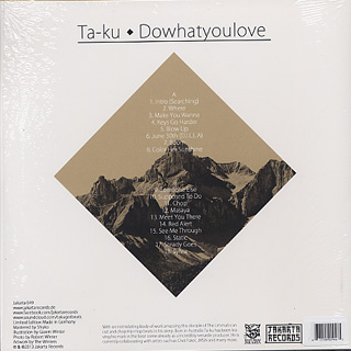 Ta-Ku / Dowhatyoulove back