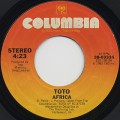 Toto / Africa c/w Good For you