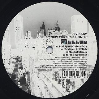 TV Baby / New York Is Alright (Idjut Boys Remix) back