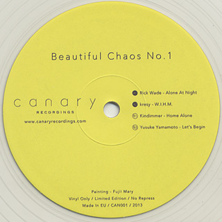 V.A. / Beautiful Chaos No.1 back