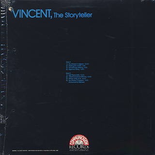 Vincent / The Storyteller back
