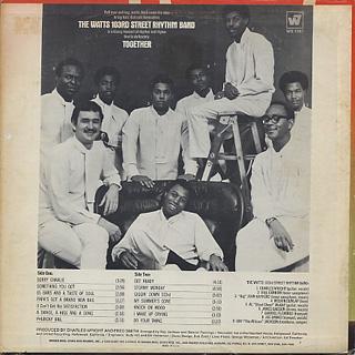 Watts 103rd Street Rhythm Band / Together back