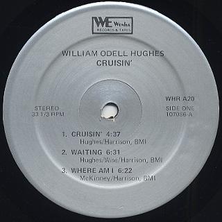 William Odell Hughes / Crusin' label