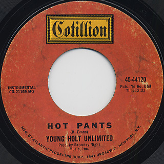 Young-Holt Unlimited / Hot Pants