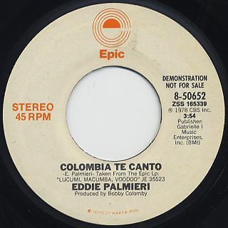 Eddie Palmieri / Colombia Te Canto