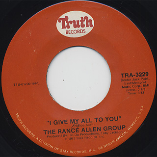 Rance Allen Group I Give Myself To You