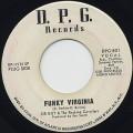 Sir Guy & The Rocking Cavaliers / Funky Virginia c/w My Sweet Baby