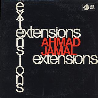 Ahmad Jamal / Extentions