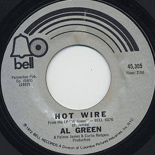 Al Green / Hot Wire