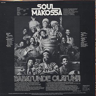 Babatunde Olatunji / Soul Makossa back