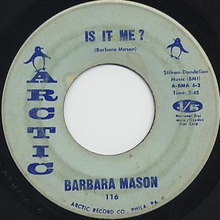 Barbara Mason / Is It Me?