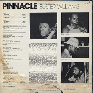 Buster Williams / Pinnacle back
