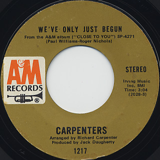 Carpenters / We've Only Just Begun