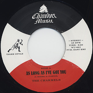 Charmels / As Long As I've Got You c/w Wendy Rene / After Laughter
