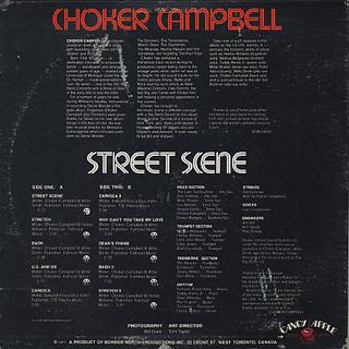 Choker Campbell / Street Scene back