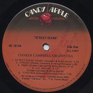 Choker Campbell / Street Scene label