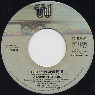 Crowd Pleasers / Freaky People back