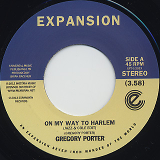 Gregory Porter / On My Way To Harlem
