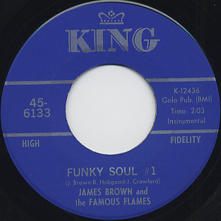 James Brown and The Famous Flames / Funky Soul #1