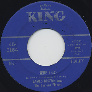 James Brown And The Famous Flames / Shhhhhhhh (For A Little While) back