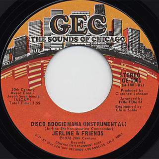 Jerline & Friends / Disco Boogie Mama back