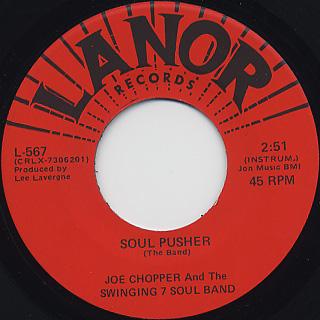 Joe Chopper & The Swing 7 Soul Band / Soul Pusher