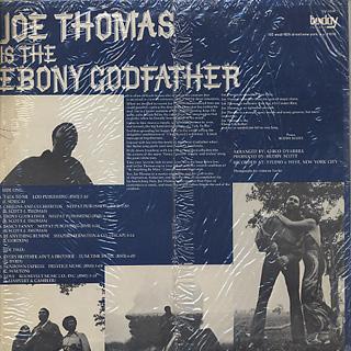 Joe Thomas / Is The Ebony Goodfather back