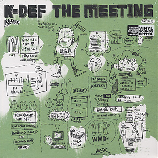 K-Def / The Meeting (Black&White Mix Color Vinyl)