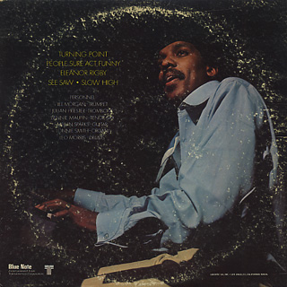 Lonnie Smith / Turning Point back