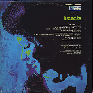 Lucecita / S.T. back