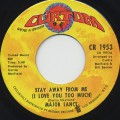 Major Lance / Stay Away From Me (I Love You Too Much)