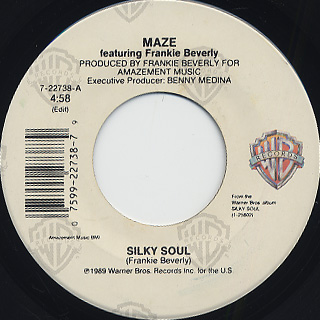 Maze featuring Frankie Beverly / Silky Soul c/w Midnight