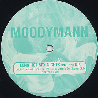 Moodymann / Long Hot Sex Nights