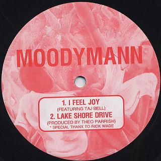 Moodymann / Small Black Church back