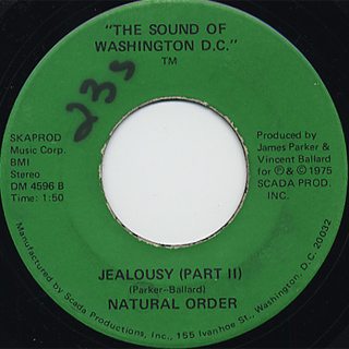 Natural Order / Jealousy back