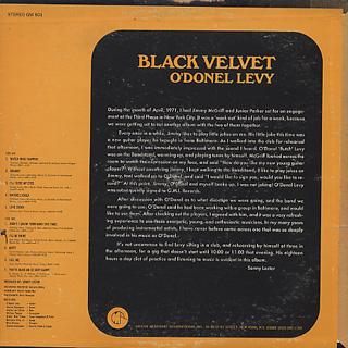 O'Donel Levy / Black Velvet back