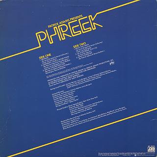 Patrick Adams Presents Phreek / S.T. back