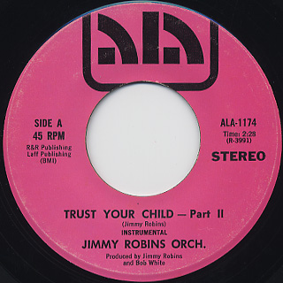 Patrizia & Jimmy / Trust Your Child back