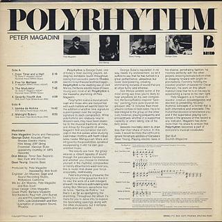 Peter Magadini / Polyrhythm back