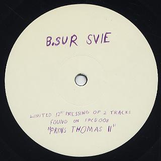 Prins Thomas / Sot Kloe back
