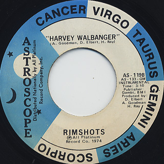 Rimshots / Harvey Walbanger back