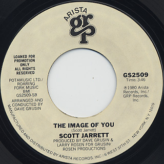 Scott Jarrett / I Was A Fool c/w The Image Of You back