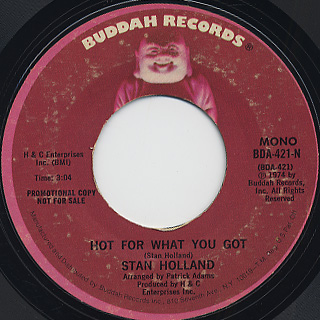 Stan Holland / Hot For What You Got back